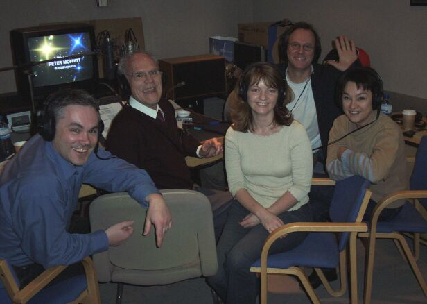Matthew Waterhouse, Peter Moffatt,Sarah Sutton, Peter Davison, Janet Fielding